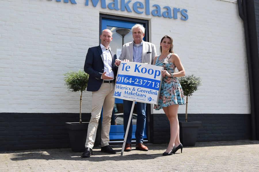 Het team van Wiericx & Geerdink Makelaars