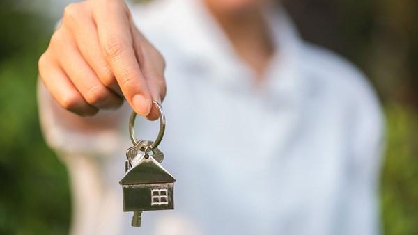 Wohnung mit Schlüssel