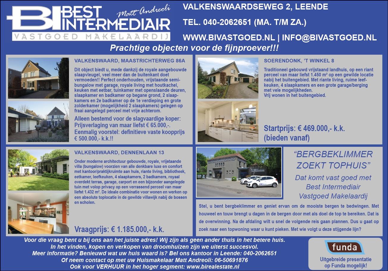 Advertentie Eindhovens Dagblad 20 april 2019