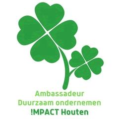 Het logo van Stichting !mpact Houten