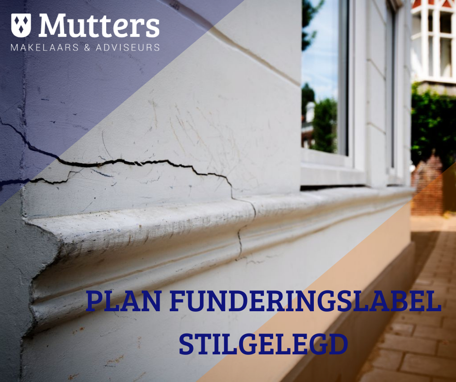 Plan funderingslabel stilgelegd